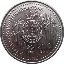 Moneta > 200escudo, 1996 - Portugalia  (Przybycie Portugalczyków do Chin w 1513 roku) - obverse