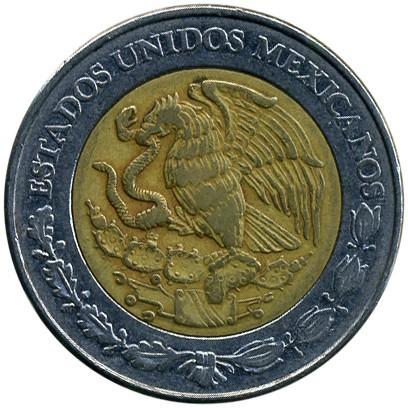5 pesos 1997-2018, Mexico - Coin value - uCoin net