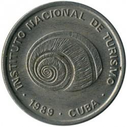 Monēta > 5sentavo, 1989 - Kuba  (INTUR: Non-magnetic) - obverse