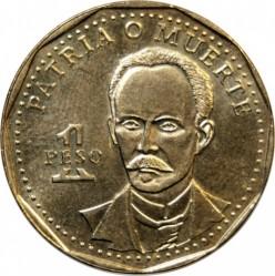 Монета > 1песо, 1991-2016 - Куба  (Хосе Марти) - reverse