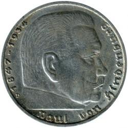 Pièce > 5reichsmark, 1935-1936 - Allemagne - Troisième Reich  - reverse