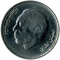 Монета > 1дирхам, 1987 - Марокко  - obverse
