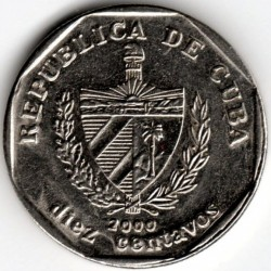 Pièce > 10centavos, 1994-2017 - Cuba  - obverse