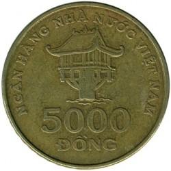 Moneta > 5000đồngów, 2003 - Wietnam  - obverse