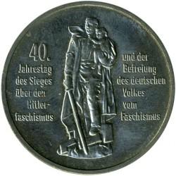 Moneda > 10marcos, 1985 - Alemania - RDA  (40º Aniversario - Liberación del Fascismo) - reverse