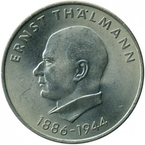 20 Mark 1971 Ernst Thälmann Deutschland Ddr Münzen Wert
