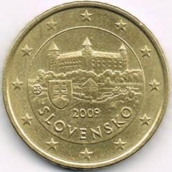 Монета > 50евроцентов, 2009-2018 - Словакия  - obverse