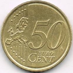Монета > 50центов, 2009-2018 - Словакия  - reverse
