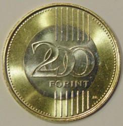 Moneta > 200fiorini, 2012-2016 - Ungheria  - reverse