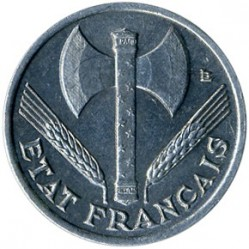 Monedă > 50centime, 1942-1944 - Franța  - reverse