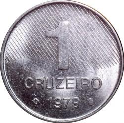 Coin > 1cruzeiro, 1979-1984 - Brazil  - reverse