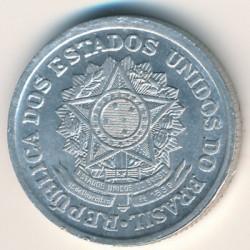 Coin > 2cruzeiros, 1957-1961 - Brazil  - obverse