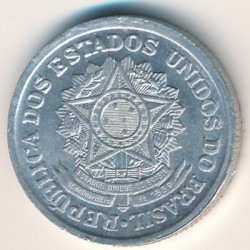 Coin > 2cruzeiros, 1957-1961 - Brazil  - reverse