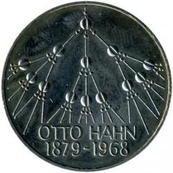 Moneda > 5marcos, 1979 - Alemania  (100º Aniversario - Nacimiento de Otto Hahn) - reverse