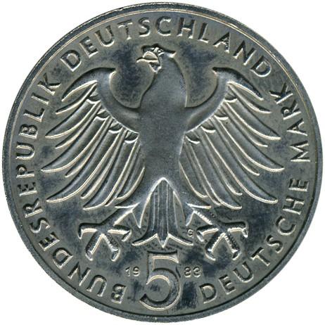 5 Mark 1983 Martin Luther Deutschland Münzen Wert Ucoinnet