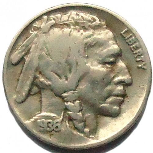 Very Good Buffalo Nickel United States 1926 5 Cents