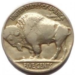 Moneta > 5centesimi, 1913-1938 - USA  (Buffalo Nickel) - reverse