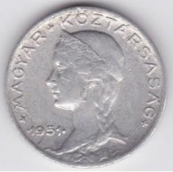 Münze > 5Filler, 1948-1951 - Ungarn  - obverse