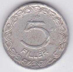 Münze > 5Filler, 1948-1951 - Ungarn  - reverse