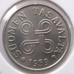 Münze > 5Mark, 1959 - Finnland  - obverse