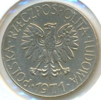 1972 ~ POLAND ~ 10 zloty ~ Tadeusz Kosciuszko ~ VF30 condition ~ REPRICED!!!