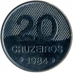 Coin > 20cruzeiros, 1981-1984 - Brazil  - reverse