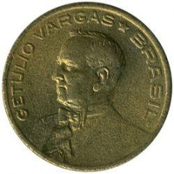 Coin > 10centavos, 1943-1947 - Brazil  (Getúlio Vargas) - reverse