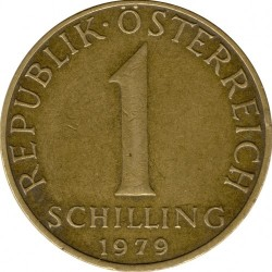 Coin > 1schilling, 1979 - Austria  - obverse