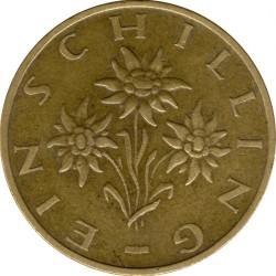 Coin > 1schilling, 1979 - Austria  - reverse