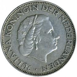 Νόμισμα > 2,5Γκούλντεν, 1959-1966 - Ολλανδία  - obverse