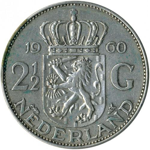 2½ Gulden 1959 1966 Niederlande Münzen Wert Ucoinnet