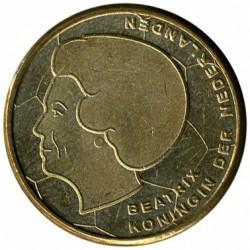Monedă > 5guldeni, 2000 - Regatul Țărilor de Jos  (European Football Championship 2000) - obverse