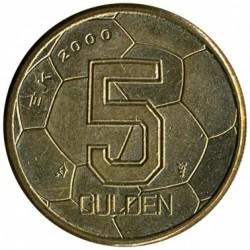 Monedă > 5guldeni, 2000 - Regatul Țărilor de Jos  (European Football Championship 2000) - reverse