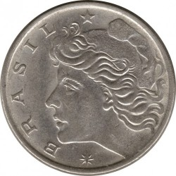 Moneda > 10centavos, 1974-1979 - Brasil  - obverse