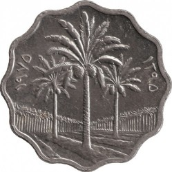 Moneda > 5fils, 1971-1981 - Irak  - obverse