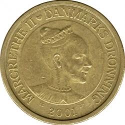 Монета > 10крон, 2001-2002 - Данія  - obverse