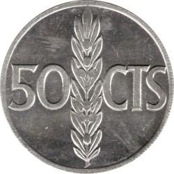 Monedă > 50céntimo, 1966 - Spania  - reverse