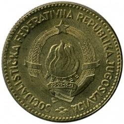 Coin > 50dinara, 1963 - Yugoslavia  - obverse