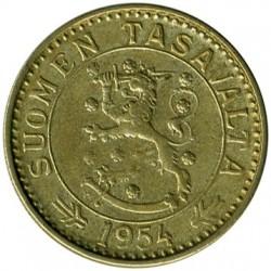 Münze > 20Mark, 1954 - Finnland  - obverse