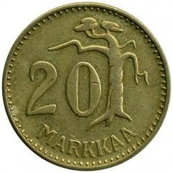 Moneda > 20marcos, 1952-1962 - Finlandia  - reverse
