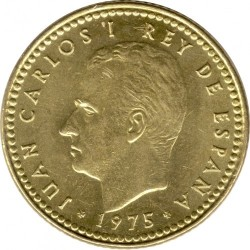 Монета > 1песета, 1975 - Испания  - obverse