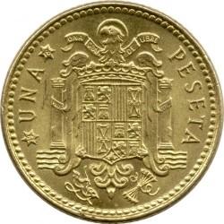 Монета > 1песета, 1975 - Испания  - reverse