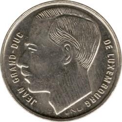 Монета > 1франк, 1988-1995 - Люксембург  - obverse