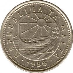 מטבע > 2סנט, 1986 - מלטה  - obverse