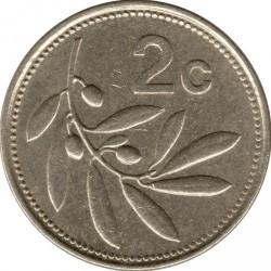 מטבע > 2סנט, 1986 - מלטה  - reverse