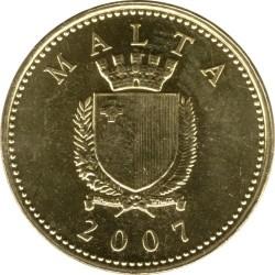 Монета > 1цент, 1991-2007 - Мальта  - obverse