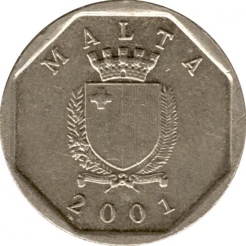 5 Cent 1991 2007 Malta Münzen Wert Ucoinnet