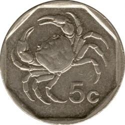 Coin > 5cents, 1991-2007 - Malta  - reverse