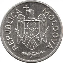 Moeda > 1ban, 1993-2017 - Moldávia  - obverse