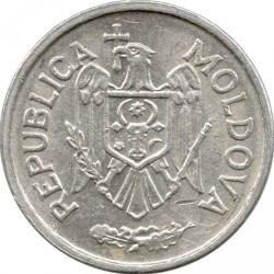 Coin > 25bani, 1993-2018 - Moldova  - obverse